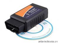 Автосканер ELM327 Bluetooth OBD II - адаптер с поддержкой CAN (Bluetooth V2.1 OBD2 CAN-BUS Diagnostic Scanner)